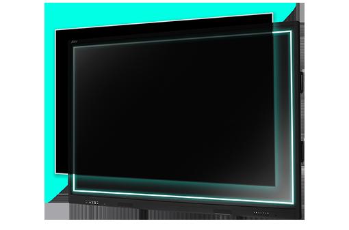防眩光鋼化玻璃